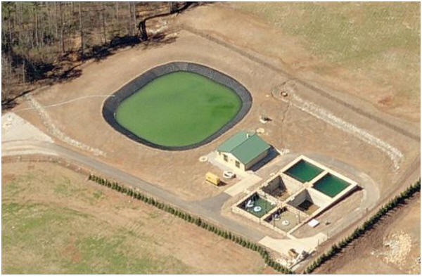 Forsyth County's Parkstone Water Reclamation Facility